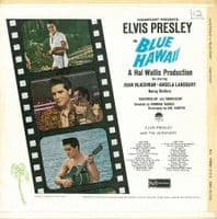 ELVIS PRESLEY Blue Hawaii Vinyl Record LP RCA 1961.